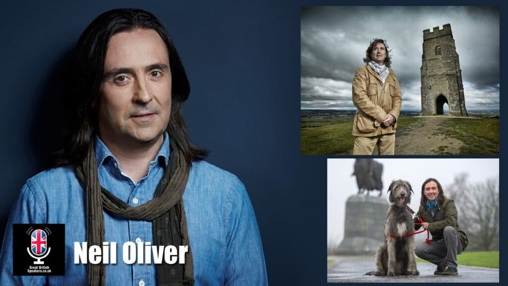 Neil Oliver Scottish Coast television presenter archaeologist conservationist author speaker at Great British Speakers