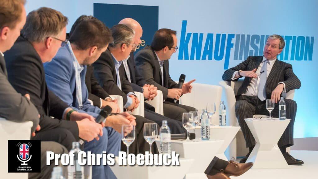 Prof Chris Roebuck at Great British Speakers