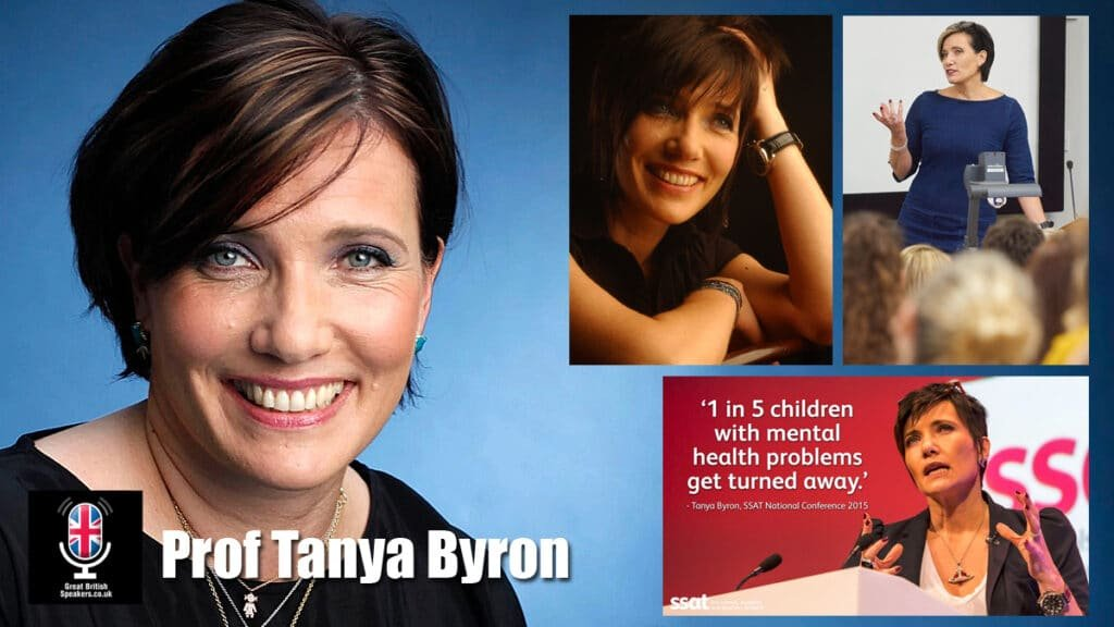 Professor Tanya Byron clinician journalist author broadcaster speaker at Great British Speakers