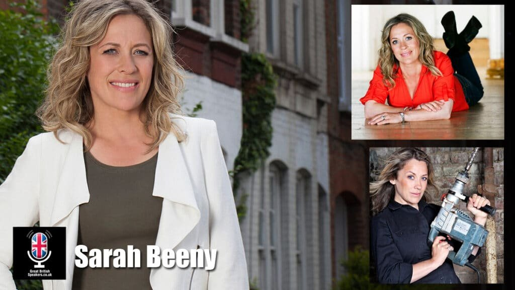 Sarah Beeny property developer presenter entrepreneur at Great British Speakers