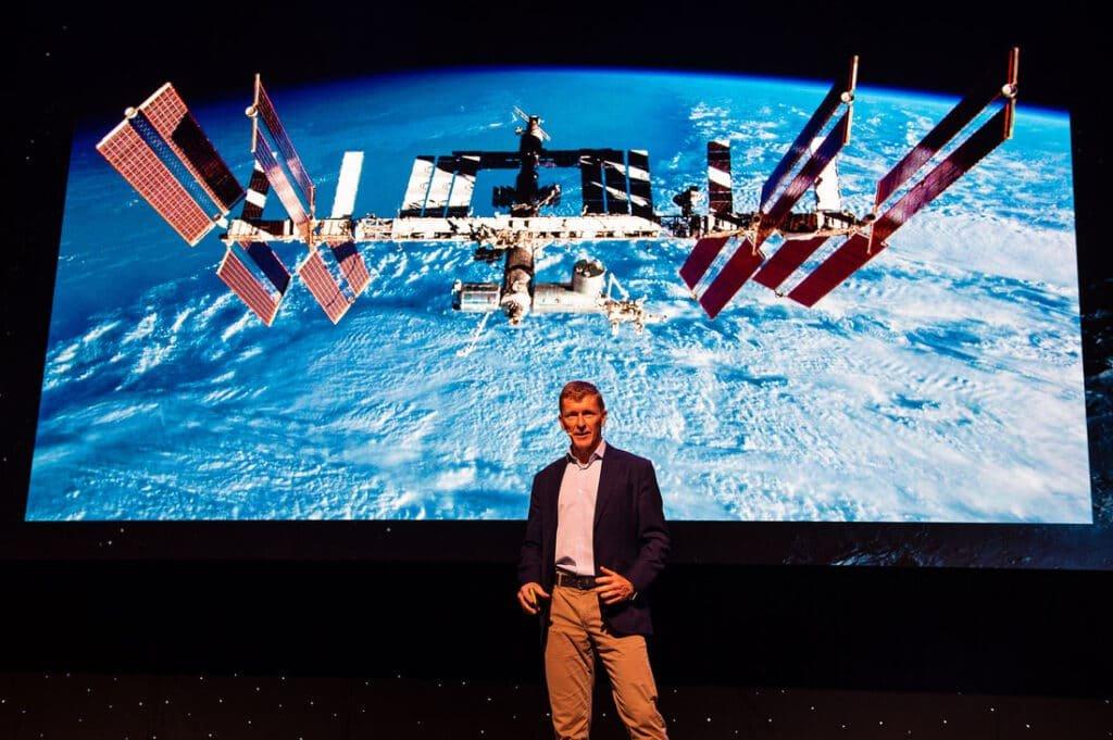 Tim Peake at Great British Speakers