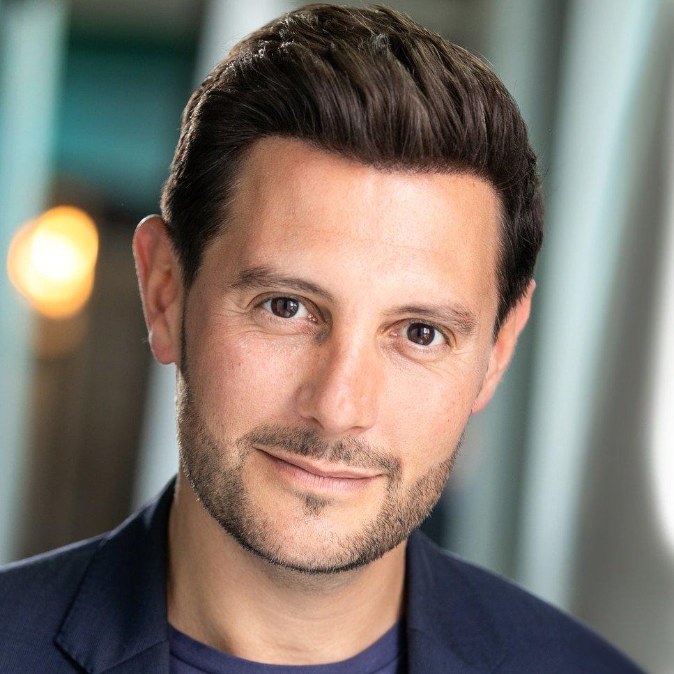 David Fabbro male presenter voice over at Great British Presenters