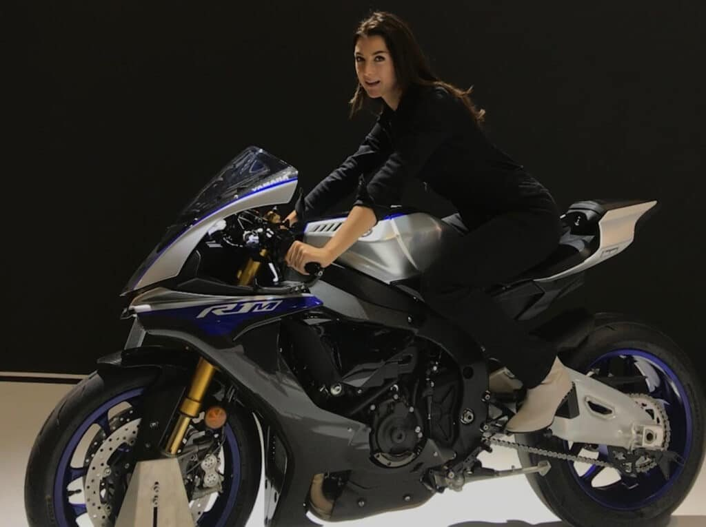 Imogen Barclay Yamaha sports golf tennis motorcycling TV presenter host at Great British Presenters