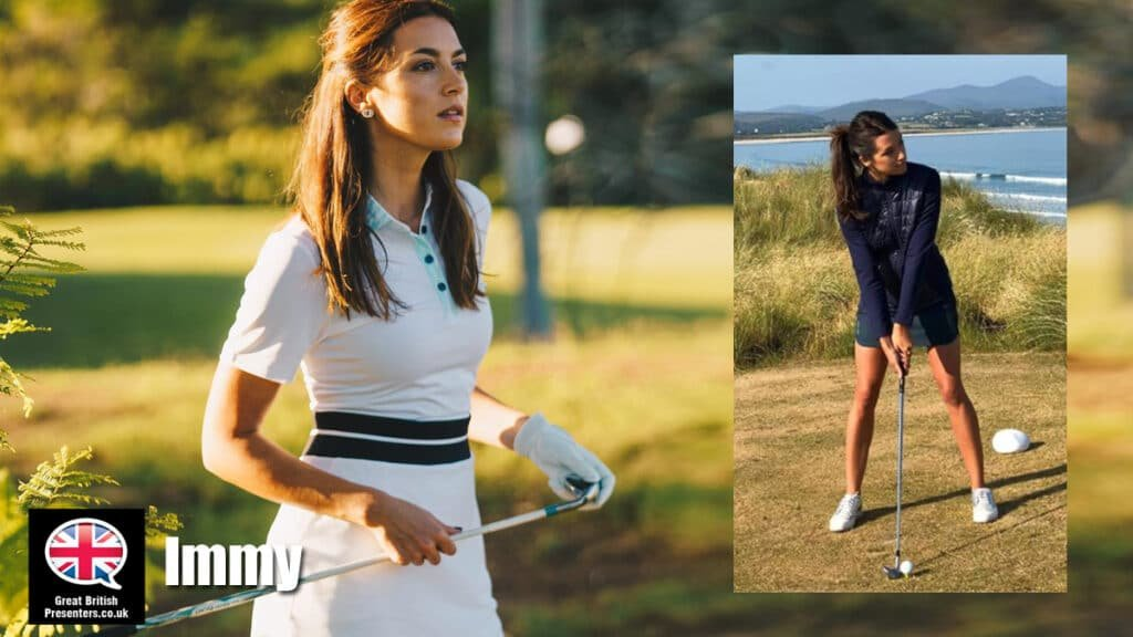 Imogen Barclay sports golf tennis motorcycling TV presenter host at Great British Presenters
