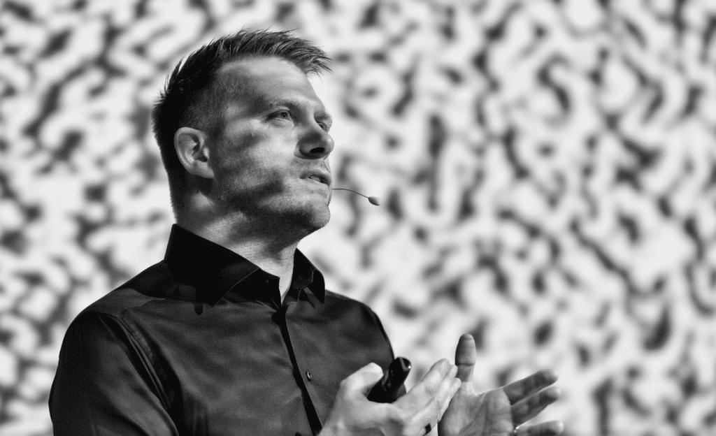 Nicklas Bergman Founder funder futurist speaker host book at Great British Speakers