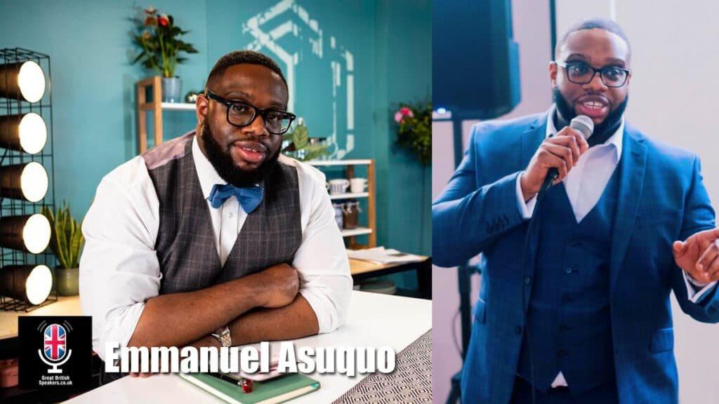 Emmanuel Asuquo personal finance financial advisor savings banking expert speaker coach at Great British Speakers