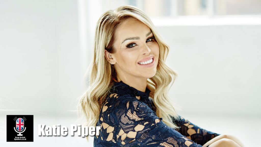 Katie Piper motivational Inspirational speaker TV presenter charity campaigner at Great British Speakers