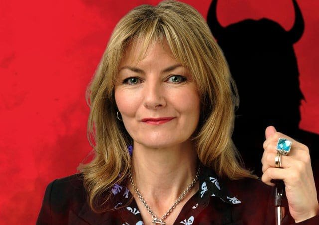 Jo Caulfield Female Comedian entertainer corporate awards event host at Great British Speakers