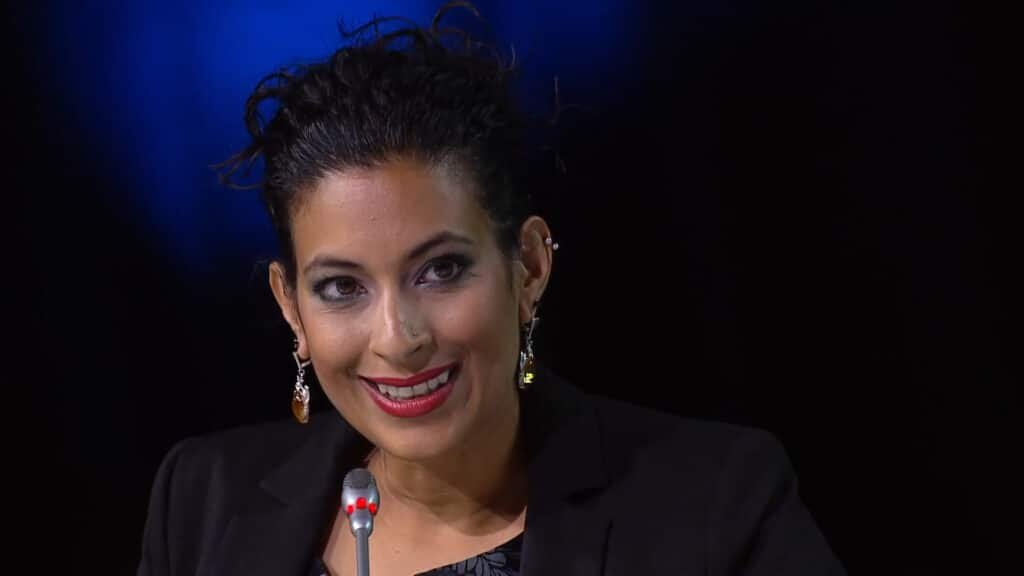 Nadira Tudor Business TV Journalist moderator live events awards host at Great British Speakers