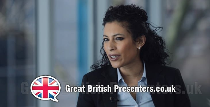 Nadira Tudor broadcast Journalist Times Radio voice over agent at Great British Presenters