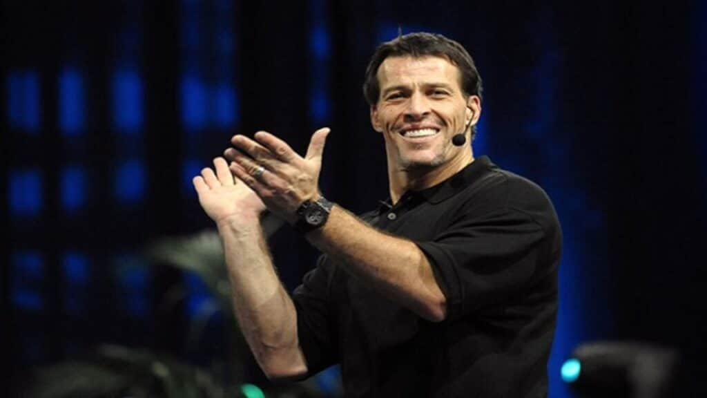 Tony Robbins motivational speaker Great British Speakers