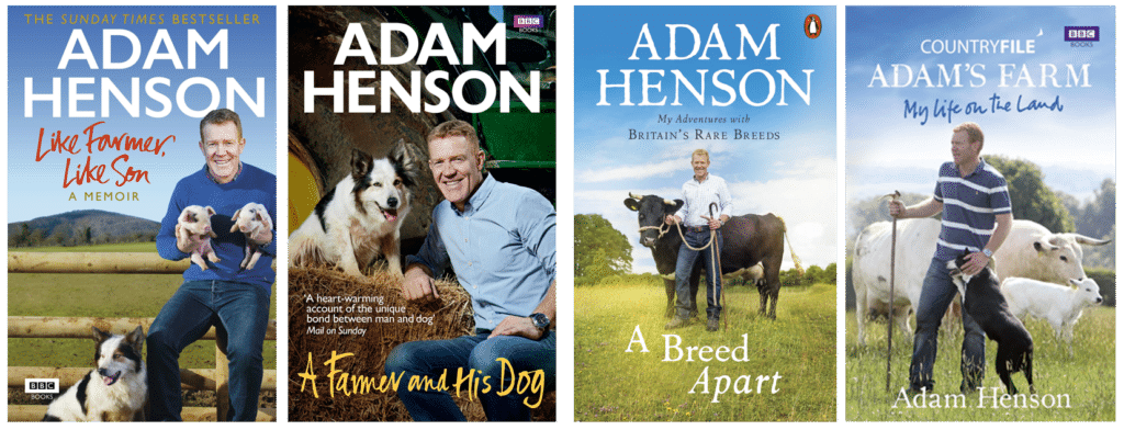 Adam Henson Cotswold Farmer BBC TV presenter Countryfile speaker at Great British Speakers