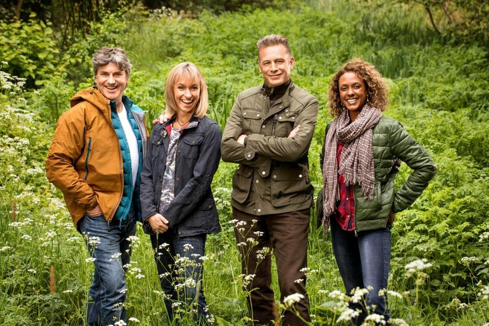 Gillian Burke Tv presenter Springwatch Autumnwatch Winterwatch speaker booking at Great British Speakers