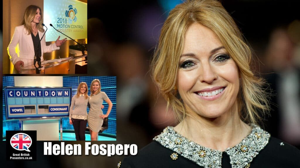 Helen Fospero SKY BBC News Reporter corporate live event host at Great British Presenters