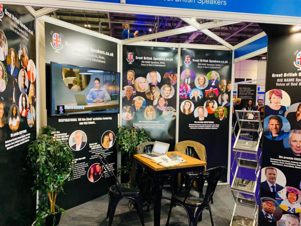 Great British Speakers Confex 2020 Stand EXCEL London