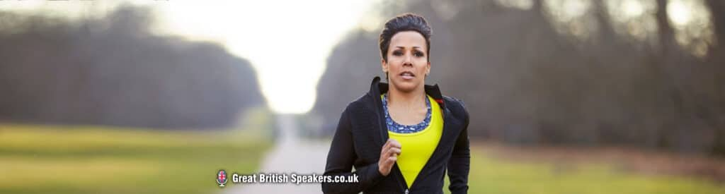Health Kick this January with our Great British Speakers Dame Kelly Holmes