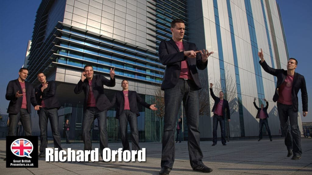Richard Orford SKY Poker TV Video Presenter live host at Great British Presenters