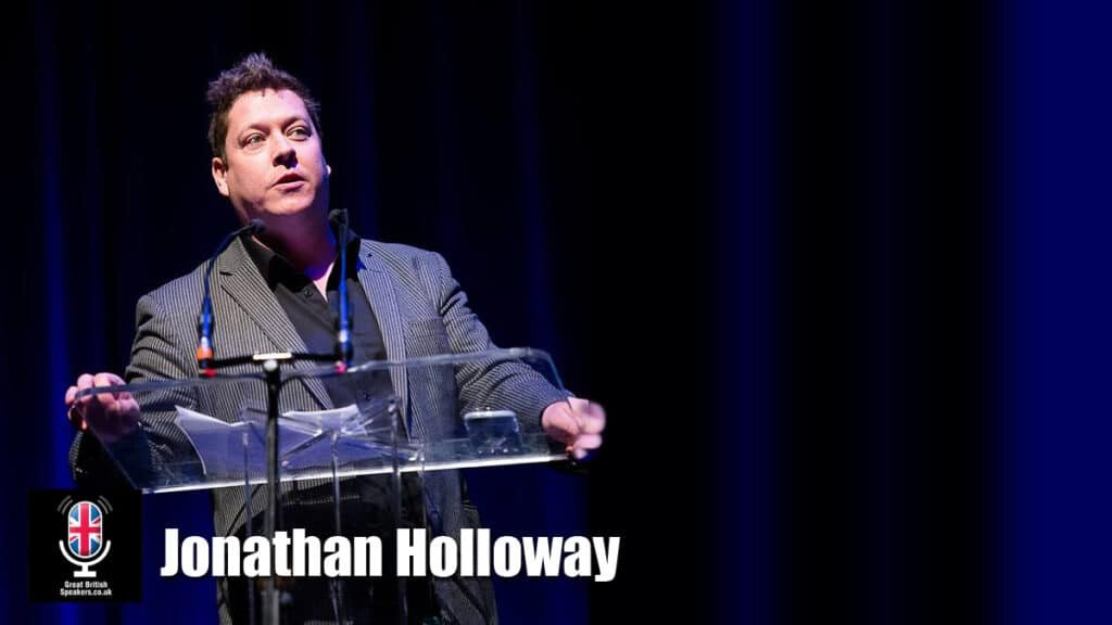 Jonathan Holloway creative innovator experience designer motivator keynote speaker at Great British Speakers