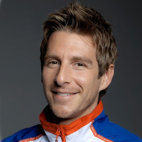 Chris Cook Olympic swimmer motivational Business Performance Coach keynote speaker at Great British Speakers