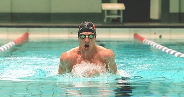 Chris Cook Olympic swimmer - motivational Business Performance Coach keynote speaker at Great British Speakers