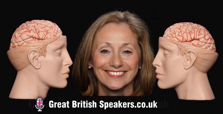 Dr Lynda Shaw neuroscientist COVID and lockdown burnout keynote at Great British Speakers