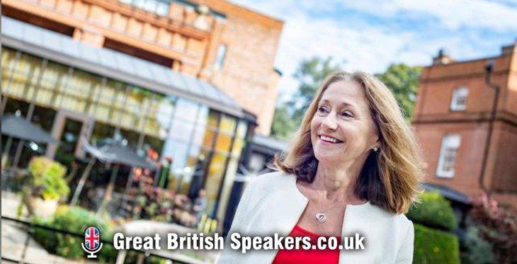 Dr Lynda Shaw neuroscientist psychologist COVID and lockdown burnout keynote at Great British Speakers