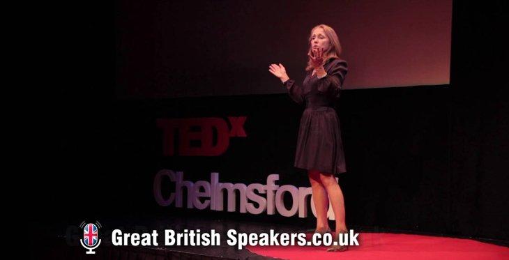 Dr Lynda Shaw neuroscientist psychologist - how to combat COVID lockdown burnout keynote at Great British Speakers