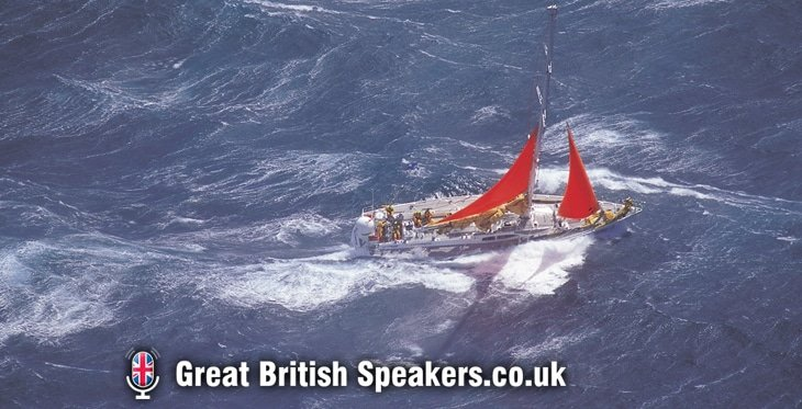 Mark Denton - Leadership teamwork resilience keynote speaker coach BT Global Challenge yacht race at Great British Speakers