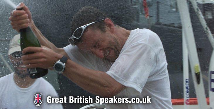 Mark Denton Leadership teamwork resilience keynote speaker coach BT Global Challenge yacht race speaker agent Great British Speakers