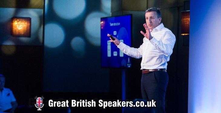 Mark Denton hire Leadership teamwork resilience keynote speaker coach BT Global Challenge yacht race speaker agent Great British Speakers
